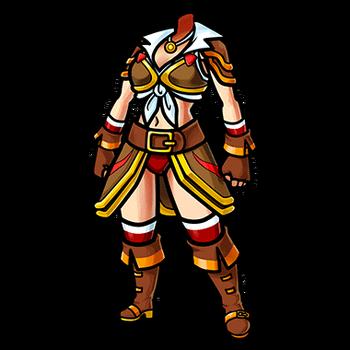 Gear-Hard Leather Armor (F) Render