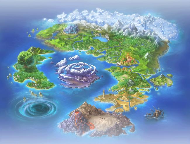 Granvia Map