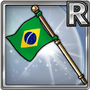Gear-Flag of Brazil Icon