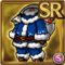 Gear-Blue Santa Costume Icon