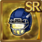 Gear-Football Helmet (Growl) Icon