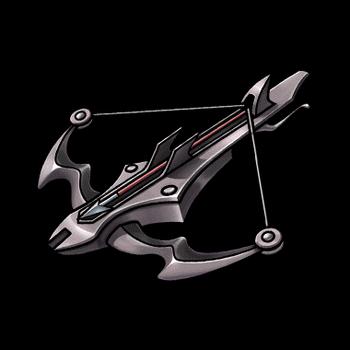 Gear-Heavy Crossbow Render