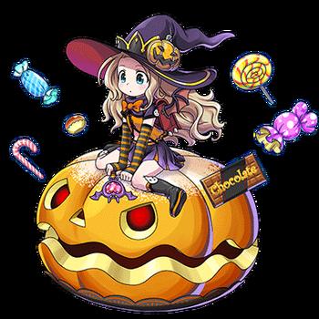 Gear-Emilia, Tyro Witch Render