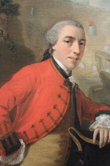 John Burgoyne, 1758
