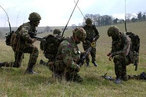 ELEC Bowman Radios on British Army lg