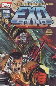 Exosquad comic cover