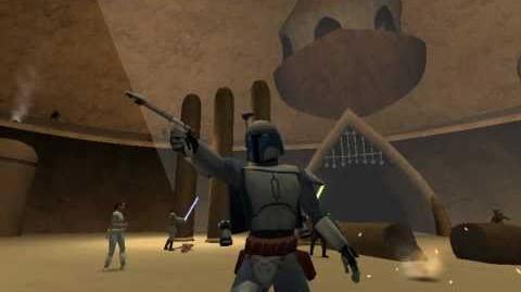 Star wars jedi academy - geonosis arena