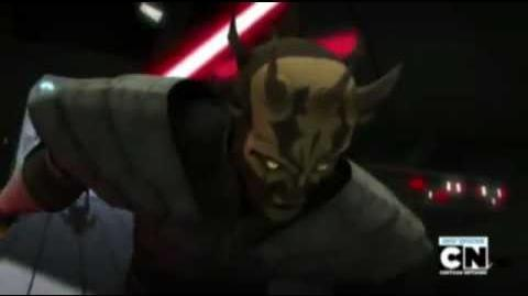CW Savage Opress vs Asajj Ventress & Count Dooku.