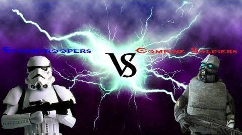 Deadliest Warrior Halo 4 Edition S2 Ep.2 (Stormtroopers VS Combine Soldiers)