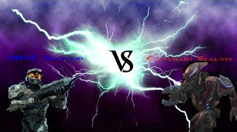 Deadliest Warrior Halo Reach Edition Ep.5 (UNSC Spartans VS Covenant Zealots)