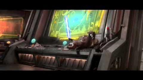 Star Wars Ep III Obi Wan Kenobi vs. Anakin Skywalker immolation scene HD