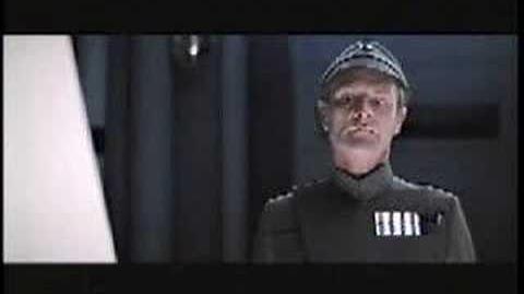 Darth Vader being a jerk