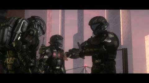 Halo ODST Brute Chieftain messes up Romeo
