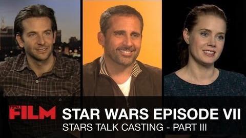 Star Wars Episode 7 Movie Stars Talk - Part 3
