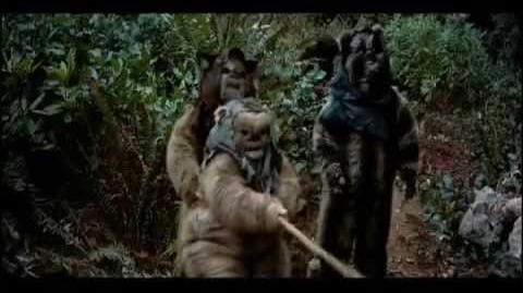 Star Wars Battles Endor part 1 (without Luke and Emperor scenes)