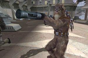 Wookie grenade launcher