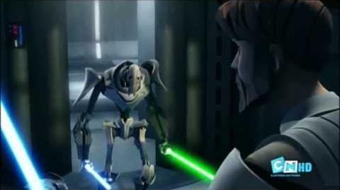 Obi wan vs General Grievous Clone Wars