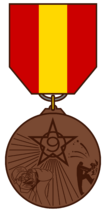 Wirma defeat medal