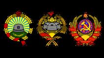 3 emblems
