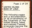 United Island Book of Law