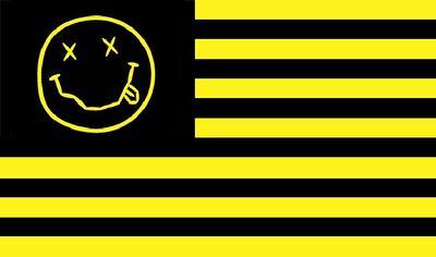 Nirvana Flag by IsolatedInsomniac