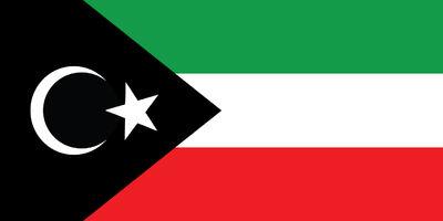 Emirate-of-Cyrenaica---National-Flag