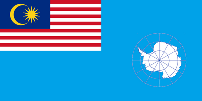 Flag of malaysian antarctic territory by otakumilitia-d4no497