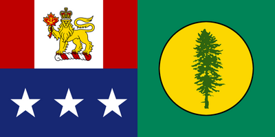 Columbia Yellowstone flag by Neethis