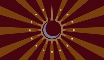 Flag of the equestrian empire vector by hombre0-d4jem1k