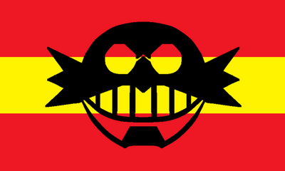 Flag of the Eggman Empire by Darrow R Griffin