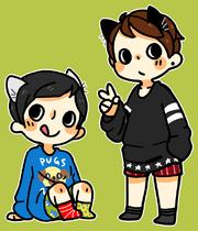 Chibi dan & phil