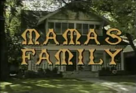 Mamas Family title screen