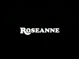 Roseanne Sitcom Title Card