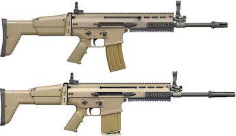FN SCAR rifle