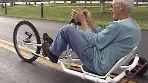FWD Rear Wheel Steering Recumbent Trike