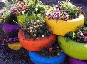 Pneus flores