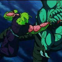 Piccolo Vs Garlic Jr Universal Dragon Ball Wiki Fandom Er greift darauf auf mit 4 gefolgsleuten gottes palast an und sperrt gott, sowie seinen diener mr. piccolo vs garlic jr universal