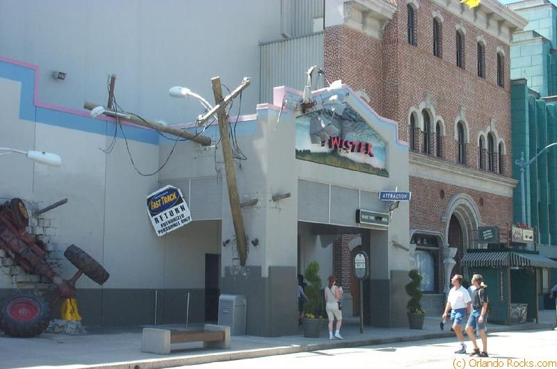 Twister...Ride it Out | Universal Orlando Parks Wiki ...Universal Studios Twister
