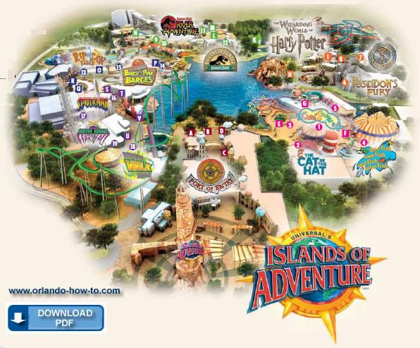 Jurassic World Map Pdf. Islands adventure jpg Image  Universal Studios Parks Wiki