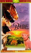 Babe (1995) Family Features VHS Cover