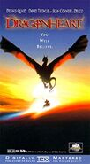 Dragonheart (1996) VHS Cover