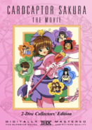 Cardcaptor Sakura The Movie (1999) 2-Disc Collectors' Edition DVD Cover