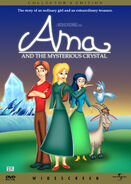 Ama and the Mysterious Crystal (1997) DVD Cover