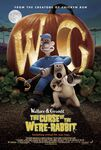Wallace and gromit curse of were rabbit poster