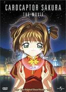 Cardcaptor Sakura - The Movie 1999 DVD cover