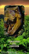 The Lost World - Jurassic Park (1997) VHS Cover