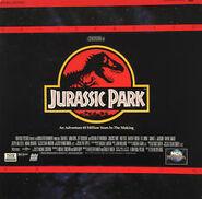 Jurassic Park (1993) LaserDisc Cover
