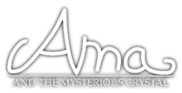 Ama and the Mysterious Crystal (1997) logo