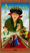 Anastasia (1997) Widescreen Series VHS Cover