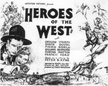 Heroes of the West FilmPoster